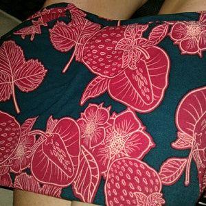 LuLaRoe Pants - LLR Strawberry Leggings